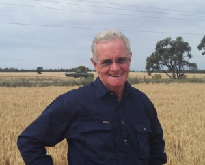 John Ward from Header Front Repairs in Swan Hill